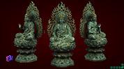 Bộ tượng Tam Thế Phật