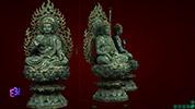 Tượng Phật Tam Thế