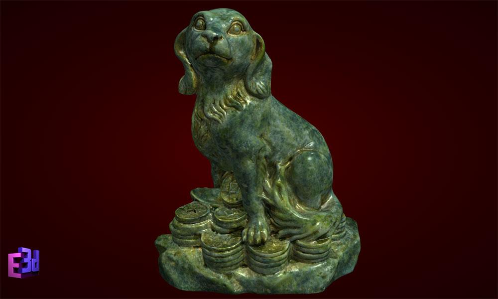 Tượng chó phong thủy - Phụ kiện trang trí bàn làm việc