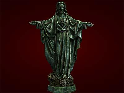 Tượng chúa Jesus. Tượng Thiên Chúa. Tượng tôn giáo. Tượng đuc. Tượng thủ công mỹ nghệ. Đồ lưu niệm. Quà tặng