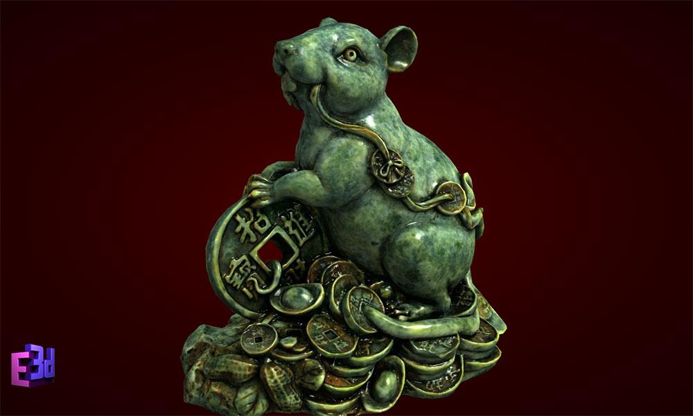 Tượng chuột - Quà sinh nhật