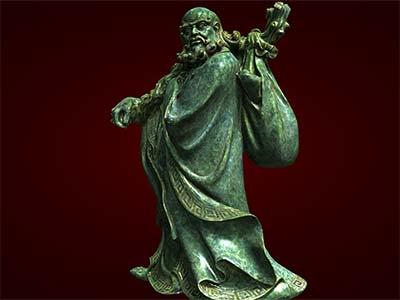 Tượng Đạt Ma sư tổ, tượng phong thủy
