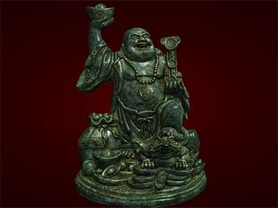 Tượng Phật Di Lặc dẫm cóc. Tượng phong thủy. Quà tặng,