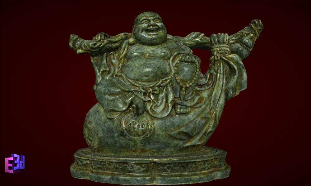 Tượng Phật Di Lặc gánh bị ngồi