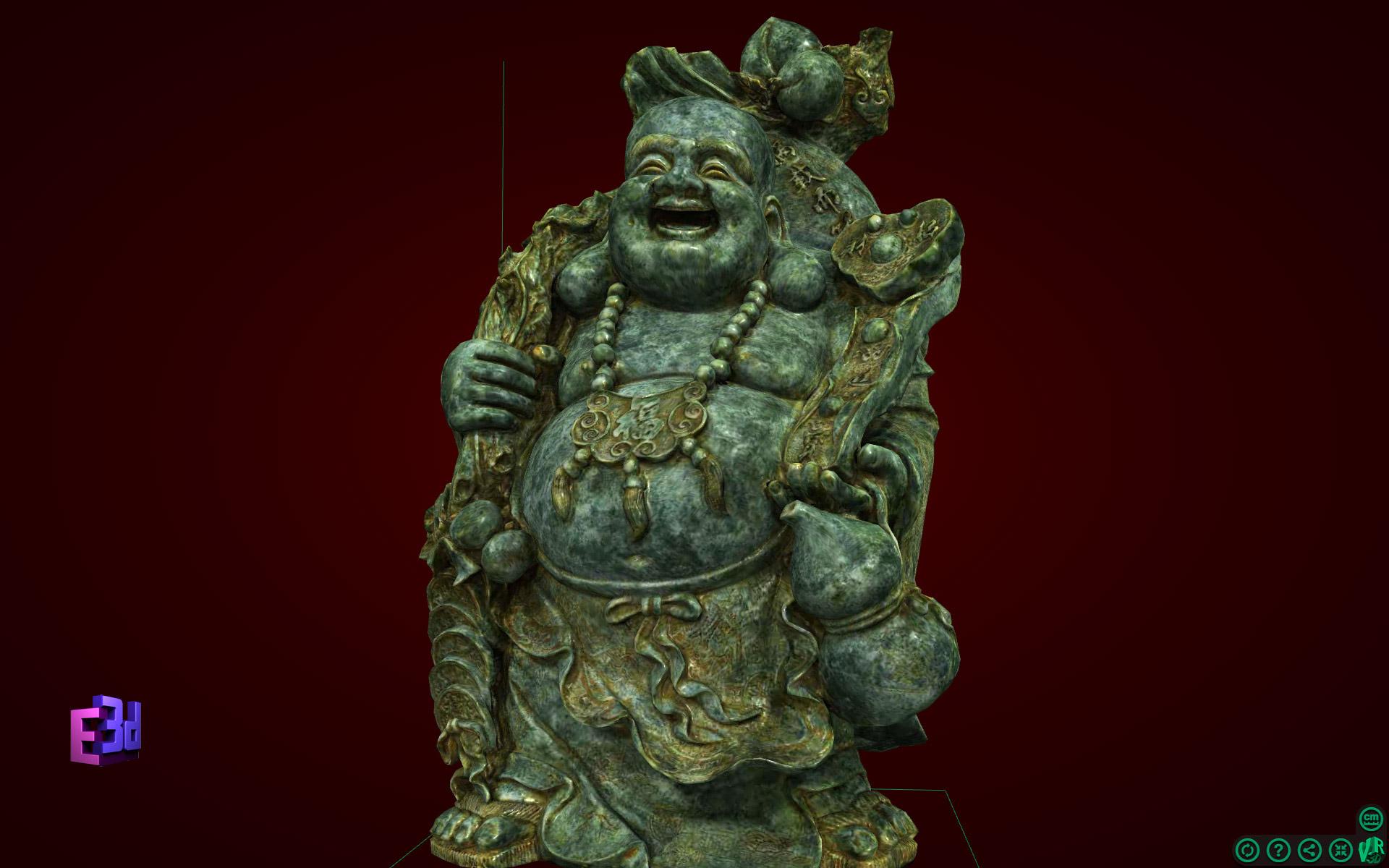 Quà tặng tết - Tượng Phật Di Lặc