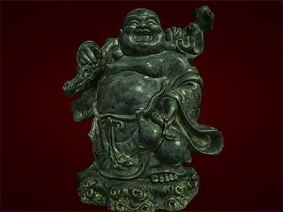 Tượng Phật Di Lặc xách rượu. Hàng thủ công mỹ nghệ. Tượng phong thủy. Quà tặng.