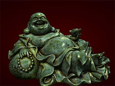 Tượng Phật Di Lặc nằm tựa bị. Tượng phong thủy. Hàng thủ công mỹ nghệ. Đồ lưu niệm. Quà tặng. Tượng tôn giáo. Tượng đuc.Tượng thờ