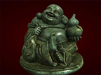 Tượng Phật Di Lặc ngồi cầm bầu rượu. Tượng phong thủy. Hàng thủ công mỹ nghệ. Đồ lưu niệm. Quà tặng. Tượng tôn giáo. Tượng đuc.Tượng thờ