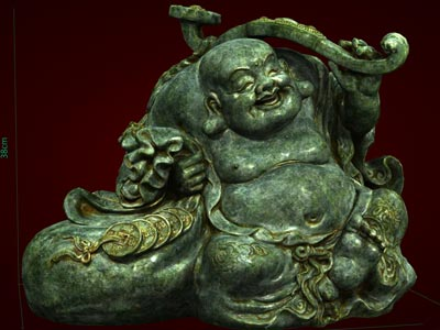 Quà tặng tết đầy ý nghĩa, Tượng Phật Di lặc ngồi