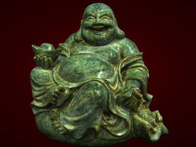 Quà tết Bính Thân, Tượng Phật Di Lặc ngồi trên bị