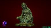 Tượng Đức Mẹ Maria ngồi