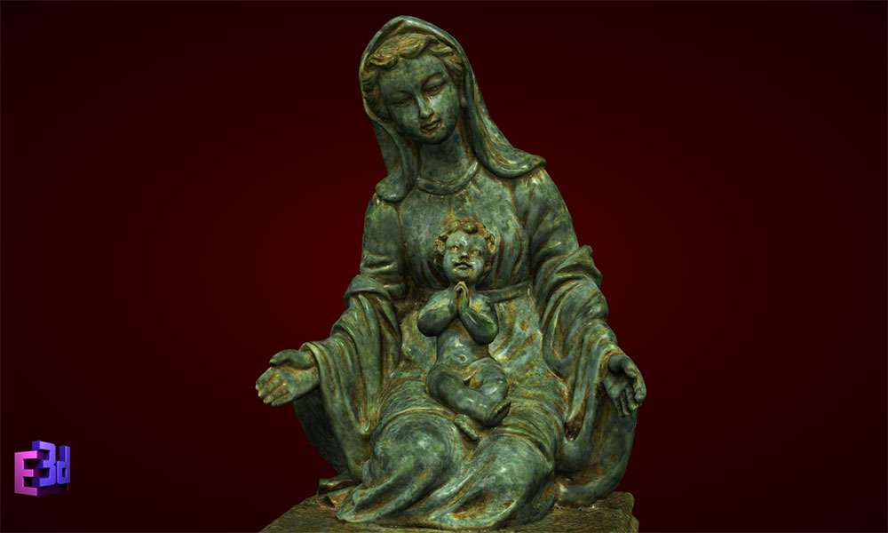 Đức Mẹ ngồi