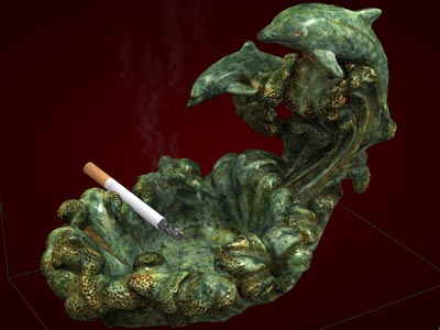 Gạt tàn thuốc lá đẹp