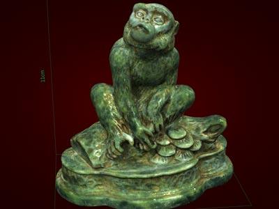 Tượng khỉ giáp bé - Linh vật Bính Thân