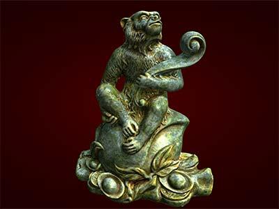 Quà sinh nhật ý nghĩa, Tượng con khỉ