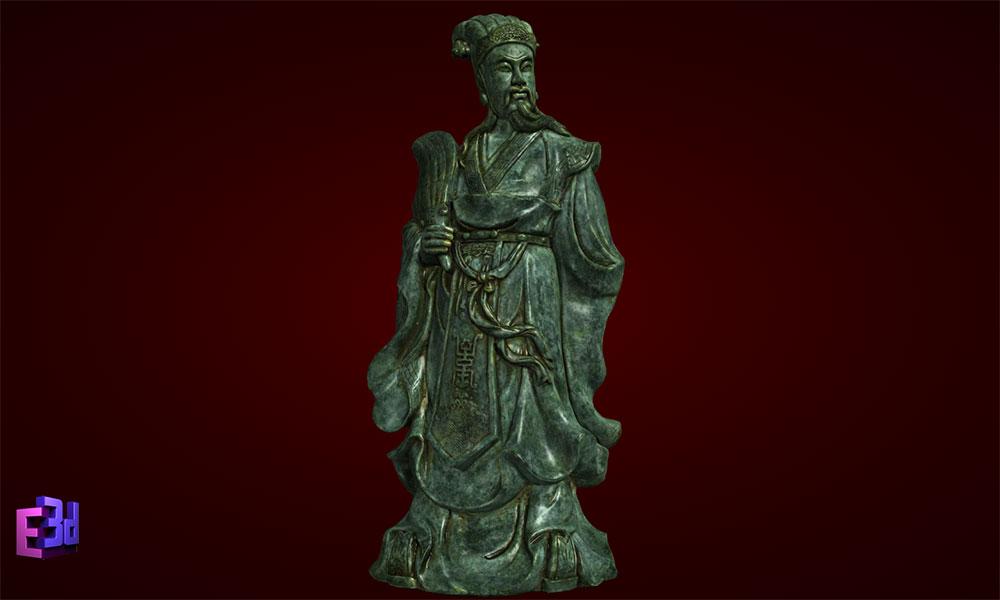 Tượng Khổng Minh Gia Cát Lượng