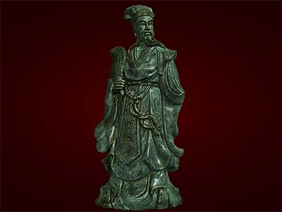 Tượng Khổng Minh, Gia Cát Lượng, quà tặng bố