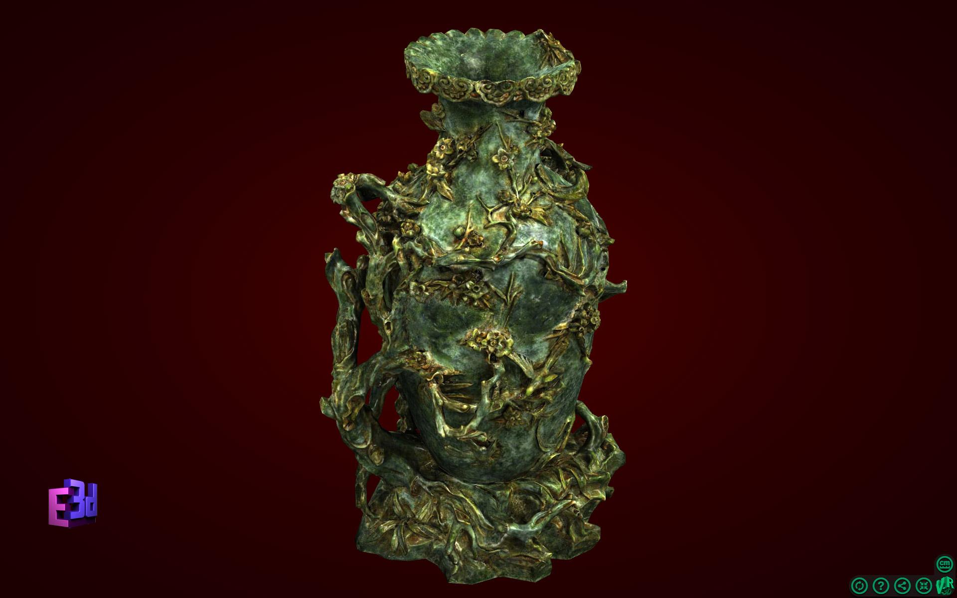 Lọ hoa đào to