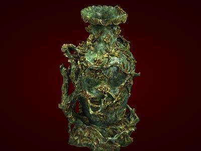 Quà tết, Lọ hoa đào to - Tượng mỹ nghệ cao cấp