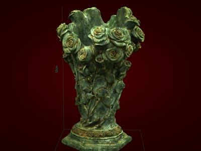 Quà tết Lọ cắm hoa hồng