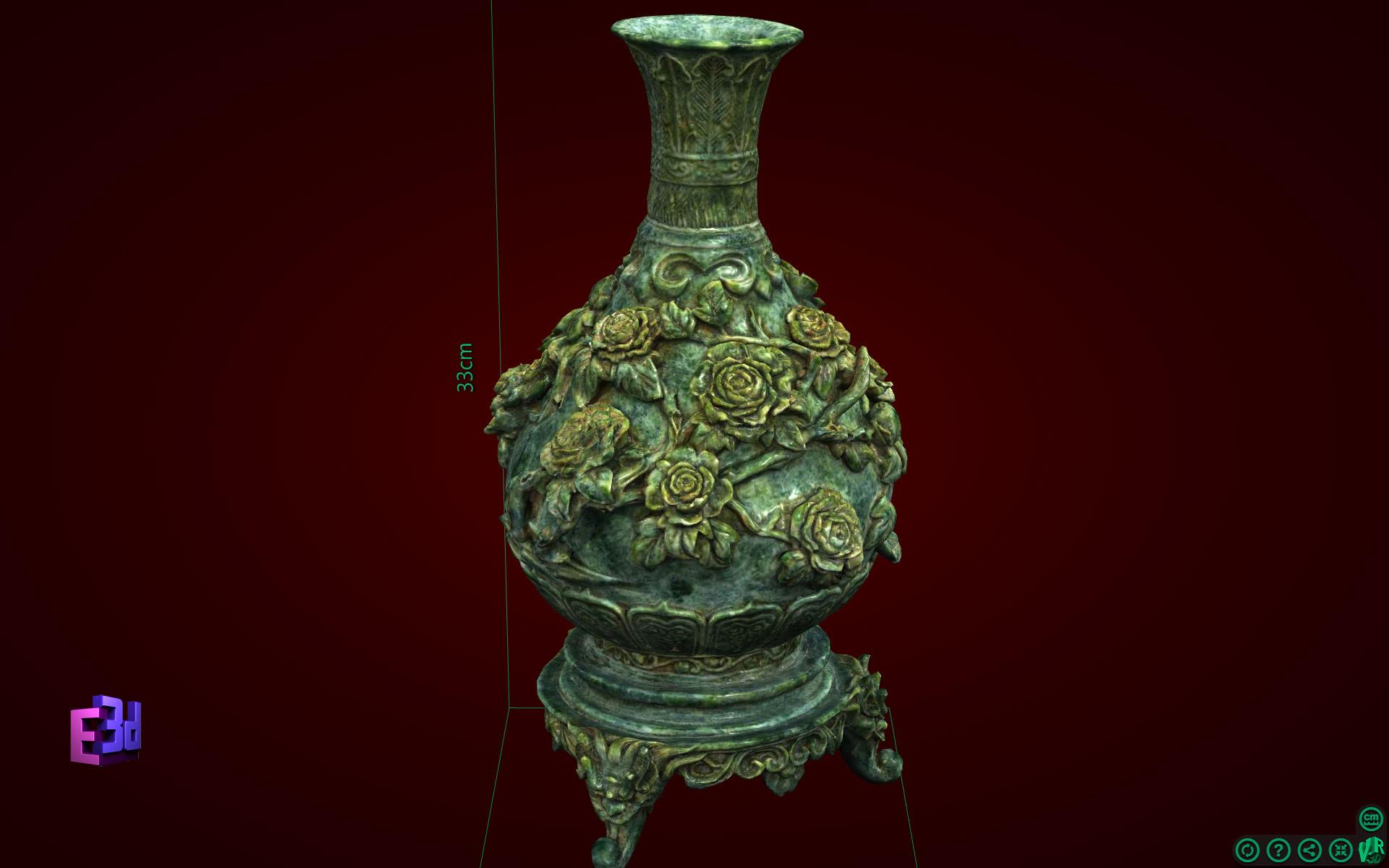 Lọ hoa phù dung