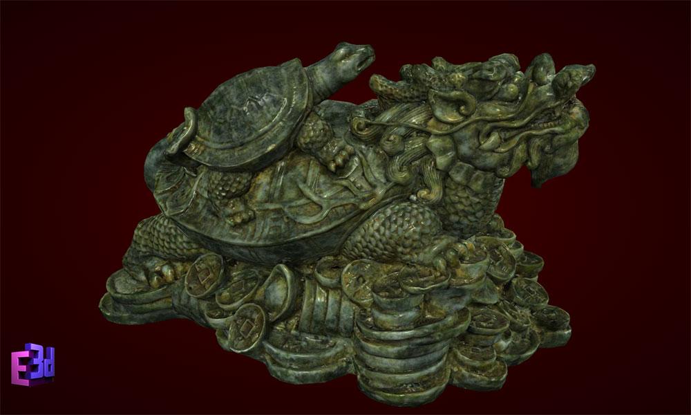 Rùa đầu rồng - Quà tặng mừng thọ