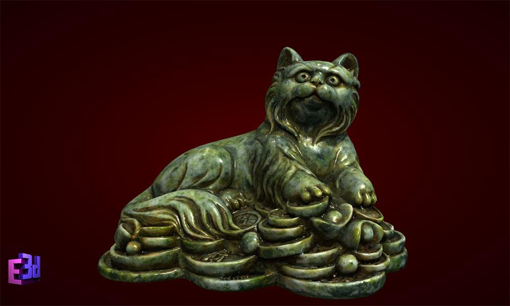 Mèo tiền giáp nhỡ