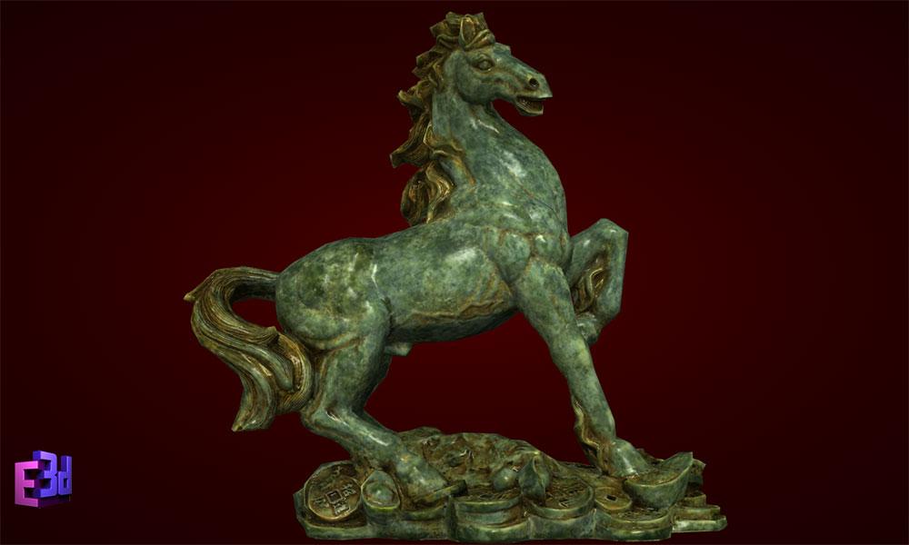 Ngựa giáp to