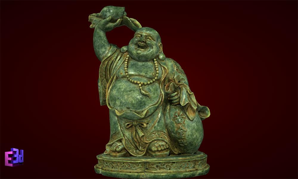 Tượng Phật Di Lặc dâng đào
