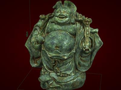 Tượng Phật Di Lặc đội lá sen. Tượng phong thủy. Hàng thủ công mỹ nghệ. Đồ lưu niệm. Quà tặng