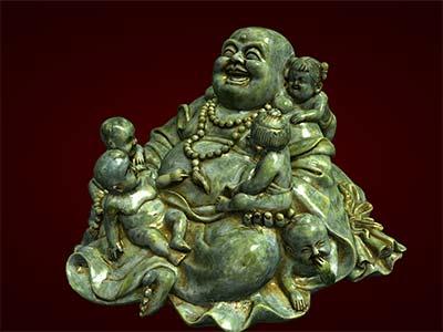 Tượng Phật Di Lặc ngũ tặc ngồi. Tượng phong thủy. Hàng thủ công mỹ nghệ. Đồ lưu niệm. Quà tặng. Tượng tôn giáo. Tượng đuc.Tượng thờ