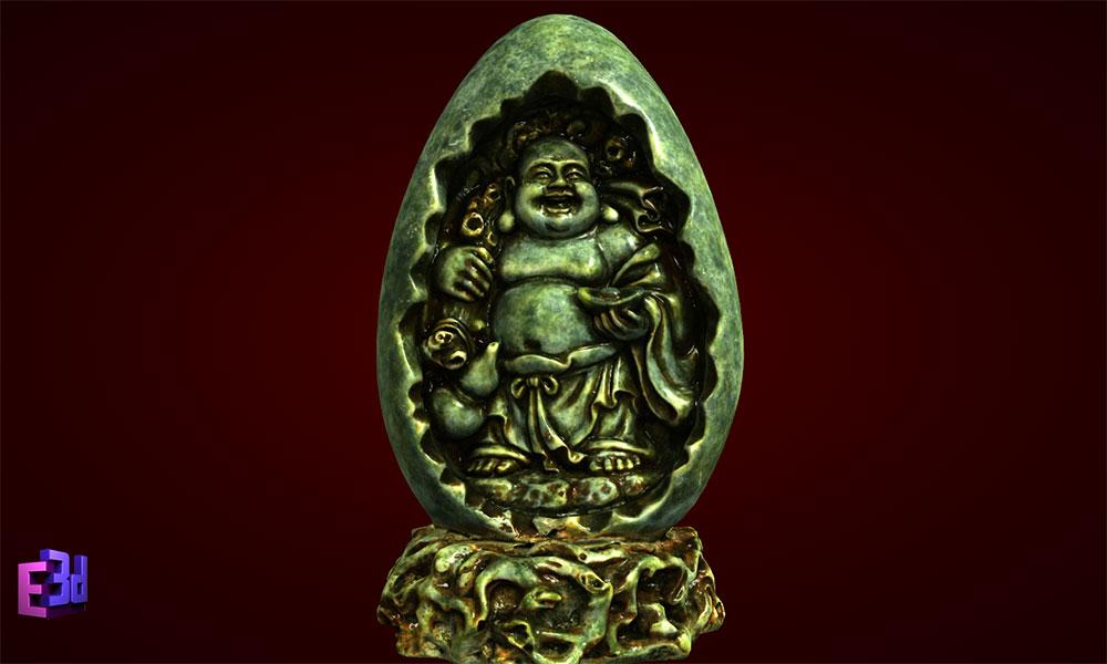 Phật Di Lặc trong quả trứng