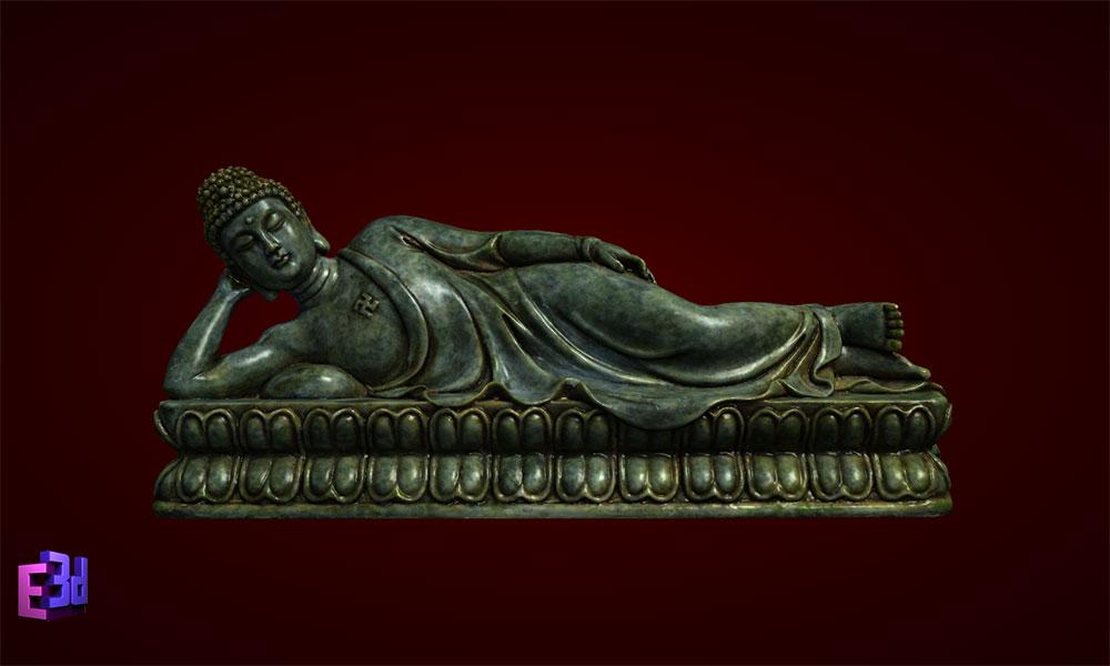 Tượng Phật Thích Ca Mâu Ni nhập niết bàn