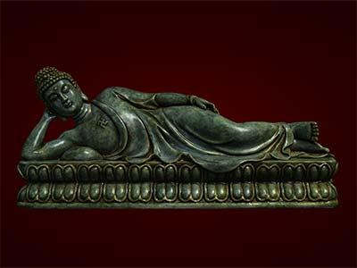 Phật Thích Ca Mầu Ni nhập niết bàn