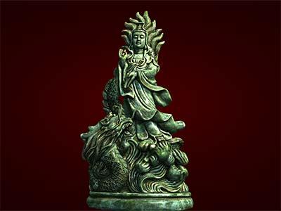 Tượng Phật Bà Quan Âm cưỡi rồng. Tượng Phật Giáo. Tượng thờ.Tượng phong thủy. Tượng đuc. Hàng thủ công mỹ nghệ. Đồ lưu niệm. Quà tặng.