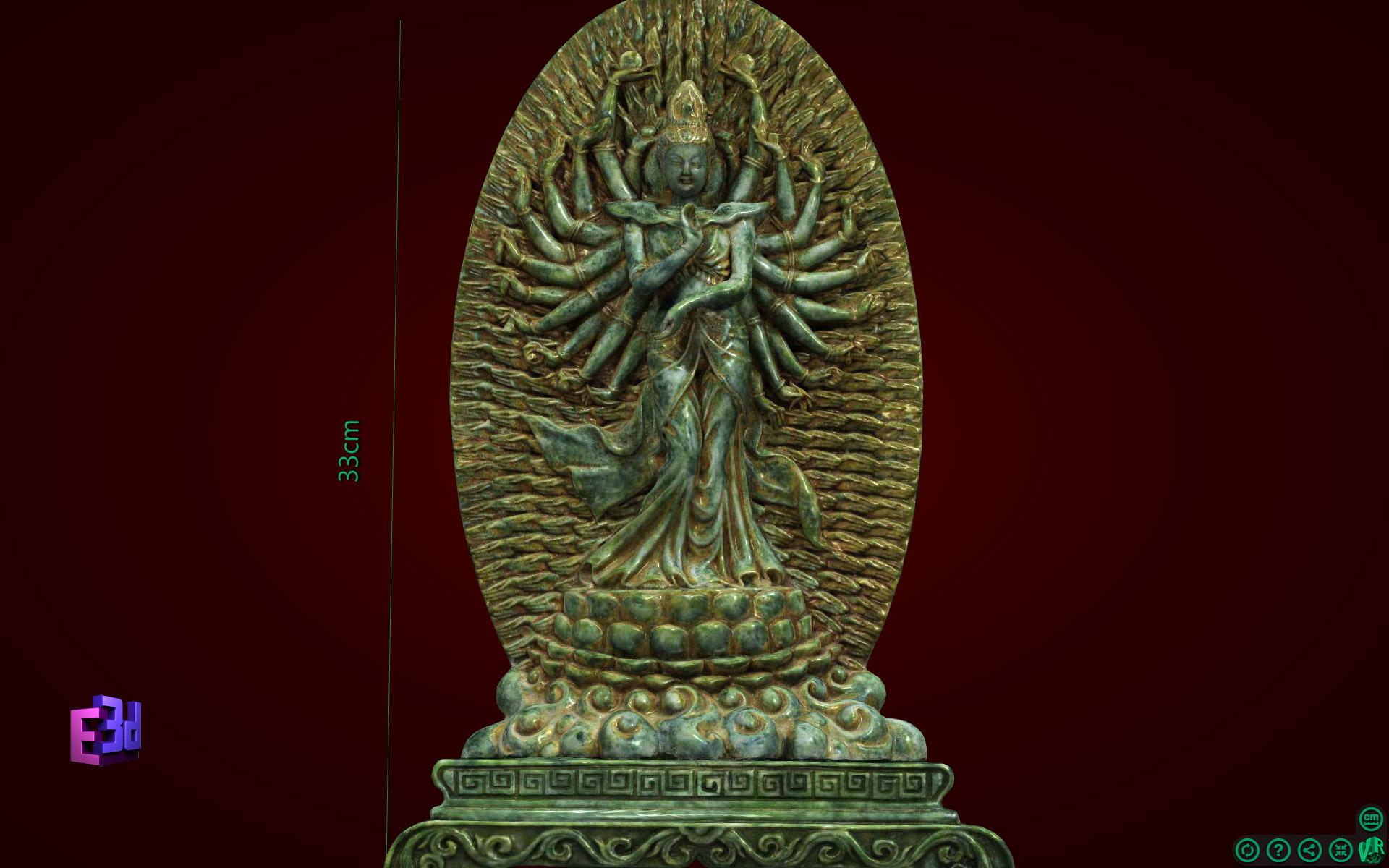 Tượng Phật nghìn tay, nghìn mắt