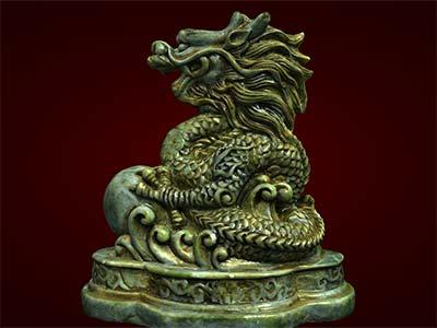 Tượng rồng, linh vật phong thủy, tượng đúc, quà tặng