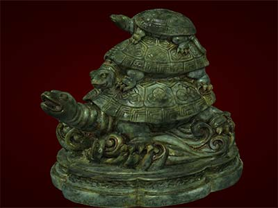 Tượng con rùa ba đời. Tượng linh vật phong thủy. Hàng thủ công mỹ nghệ. Tượng đá đuc. Quà tặng tân gia. Quà tặng tết Bính Thân 2016