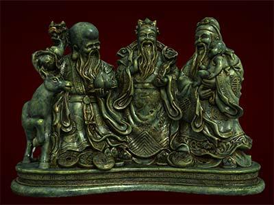 Tượng Tam Đa hay còn gọi là ba ông Phúc-Lộc-Thọ, Tượng phong thủy