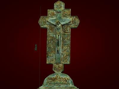 Thánh giá, tượng thiên chúa giáo