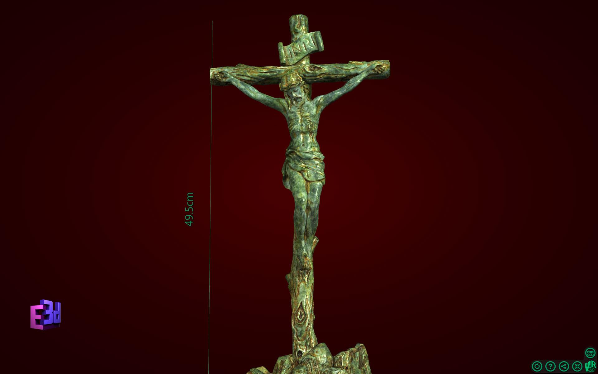 Thánh giá gốc cây to