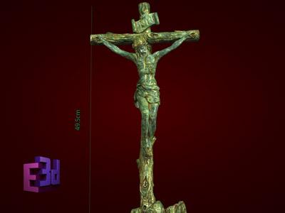 Tượng đá mỹ nghệ Thánh giá gốc cây to