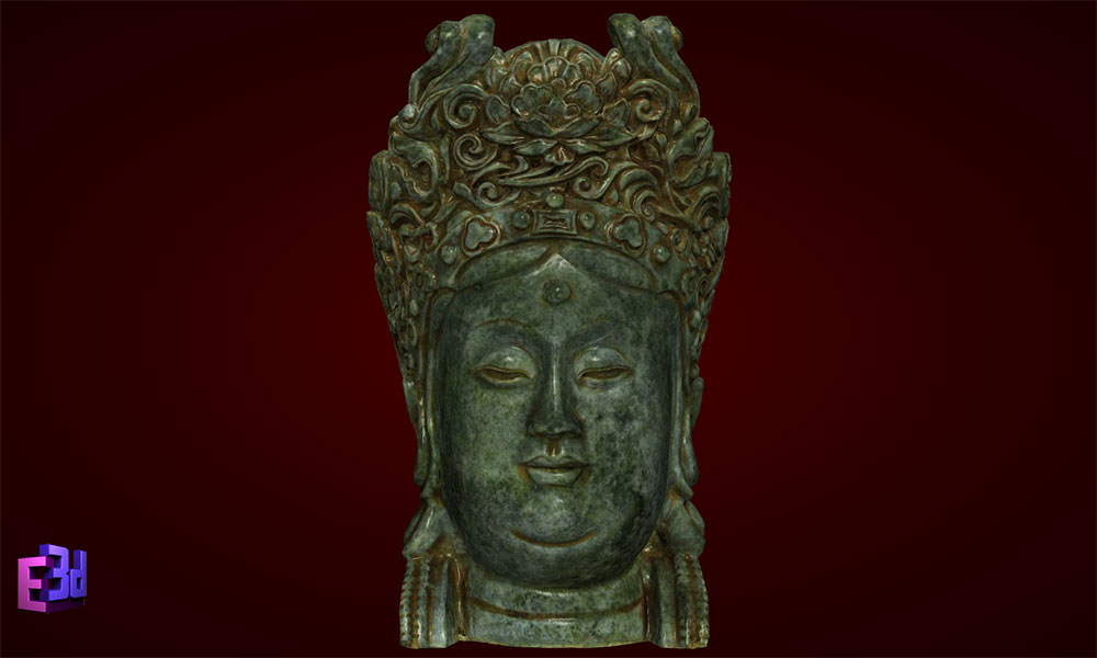 Tượng đầu Phật - Decor trang trí