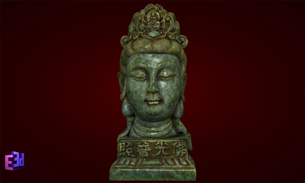 Mặt Phật Đại Thế Chí Bồ Tát