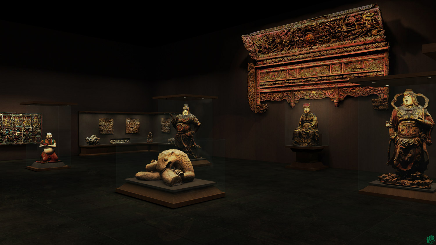 Virtual Museum 3D interactive video 3D Interactive Virtual Museum Tour  online - Ancient sculptures of Vietnam